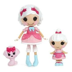 Lalaloopsy Mini Littles Suzette La Sweet and Mimi La Sweet Doll New