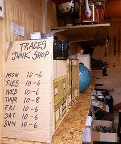 Traces Junk Shop london