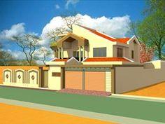 Projet de construction d'une residence a Banjul en Gambie, Banjul, 2015 - Albert Kwessi