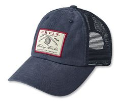 Our men's vintage mesh trucker cap is a brand-new old favorite.