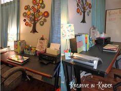 Teacher's Home Office Setup! - Kreative in Life