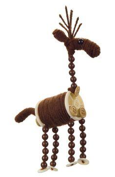 Melrose Gifts Knitting Spool Deer Ornament