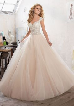 Mori Lee - Marigold - 8126 - All Dressed Up, Bridal Gown-Bridal Gown-Mori Lee-All Dressed Up - Bridal Prom Tuxedo