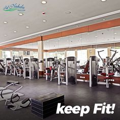 Keep Fit! For memberships, call 94147938 or Free Weights, Aerobics Workout, Muscat, Keep Fit, Resort Spa, Ayurveda, The Help, Gym, Fitness