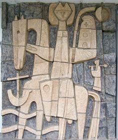 wall sculpture netherlands