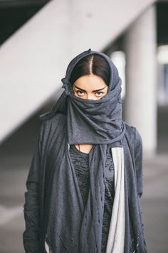 CUB lookbook spring/summer 2014 #polishfashion #fashion #cub #cub_wear #summer #cotton #natural #wild #grey #black #girl #concrete #industrial #look #city #cardigan #free #move #warior