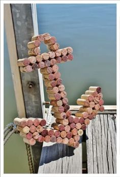 Anchor Wine Cork Art