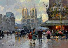Edouard Léon Cortès, Notre Dame, Paris