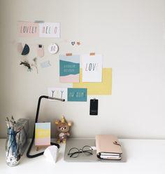 "j-christabel: ""Cleaned my desk and transitioning into new set up Instagram : @jchristabel """