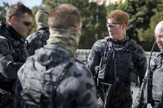 Captain Wales exercises with Royal Australian Navy Clearance Divers posted to the 2nd Commando Regiment during his Army secondment.