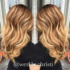 Balayage ombre, blonde hair , haircolor