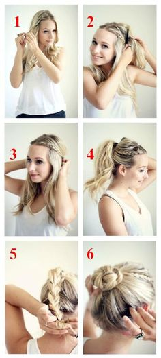 The bun is totally in right now, and for good reason! This classic hairstyle looks chic while keeping your hair away from your face.