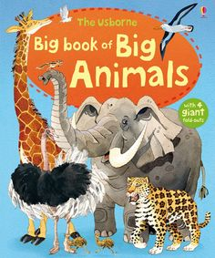 """Find out more about """"Big book of big animals"""", write a review or buy online."""