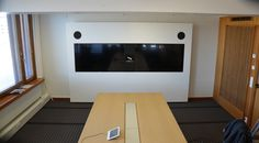 Video conference equipment cabinet Planethx Flush