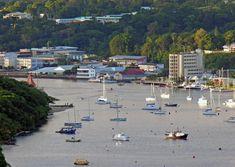 Port Vila waterfront, Vanuatu