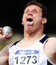 Shot-Put Derp Faces Are Defintely The New Best Olympic Derp Faces