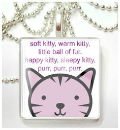 Soft Kitty Sleepy Kitty Inspired by Big Bang Theory  by RileysStar, $7.99