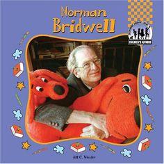Norman Bridwell (Children's Authors) by Jill C. Wheeler http://www.amazon.com/dp/1591976057/ref=cm_sw_r_pi_dp_YthEvb1VNE3JP