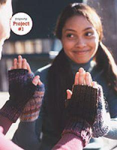 Knitting Patterns Galore - Maine Morning Mitts