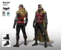 Original concept design for Batman Arkham Knight game