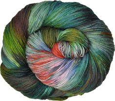 100g Juno Hand Painted Merino 4ply Sock Yarn: Babel