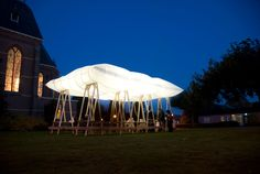 The roof that goes up in smoke | Design For Spaces Overtreders W