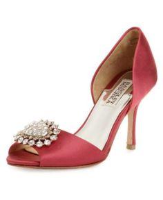 Badgley Mischka Shoes, Lacie Evening Pumps - Shoes - Macy's