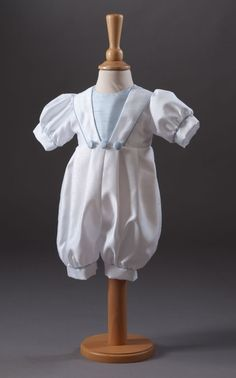 6e9df33faf7c Millie Grace 'Archie' Dupion Sailor Christening Romper Boys Christening  Romper, Archie, Beautiful