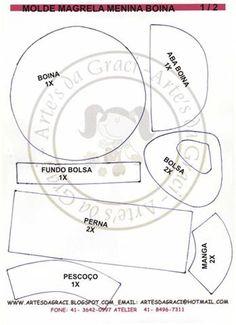 El Rincon Fofuchero: Fofuchas adolecente ( con moldes )