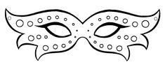 molde de mascara de carnaval para imprimir - Pesquisa Google