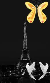 Eifelova věž Pařížská Eifelova věž<br> Plain Black Background, Black Backgrounds, Tower, Computer Case, Towers, Building