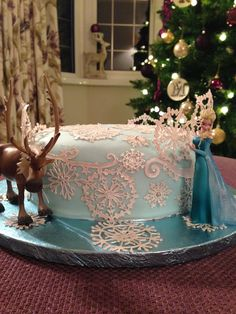 Christmas Cakes by Me - Frozen