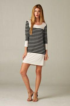 #salediem #springwardrobe #spring  Striped Shift Dress