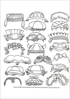 multiple printable doodle pages to create a custom
