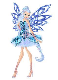 Icy Butterflix by Bloom2.deviantart.com on @DeviantArt