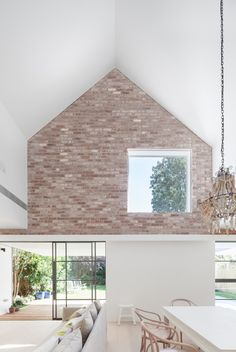 Residential design finalists in the 2014 Australian Interior Design Awards. Australian Interior Design, Interior Design Awards, Residential Interior Design, Interior Exterior, Brick Interior, Interior Walls, Interior Ideas, Houses Architecture, Studios Architecture