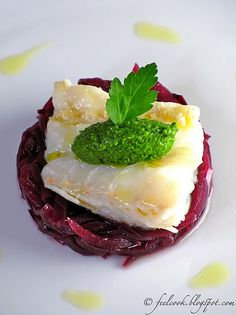 Fish Recipes, Gourmet Recipes, Whole Food Recipes, Cooking Recipes, Antipasto, Nordic Recipe, Tapas, Dinner Party Recipes, Fish Dinner
