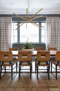 Amber Interiors Design Studio is a full-service interior design firm based in Los Angeles, California, founded by Amber Lewis. We serve clients worldwide with services ranging from interior design, interior architecture to furniture design. Style At Home, Dinning Light Fixture, Amber Interiors, Dining Room Inspiration, Interior Design Studio, Eclectic Decor, Dining Room Design, Dining Chairs, Dining Rooms