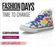 Converse | Fashion Days Sute de produse Converse cu retur gratuit. Descopera favoritele tale si cumpara acum! FASHIONDAYS.RO