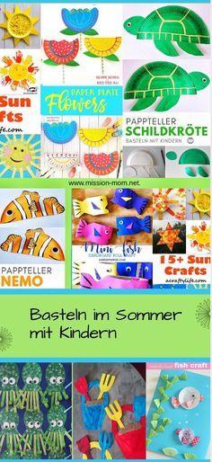 Bastelideen für den Sommer