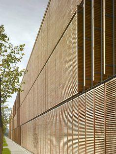 Aalen University Extension / MGF Architekten #Architecture www.mgf-architekten.de