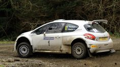 Peugeot 208 T16 rally car - ready for BRC 2016
