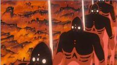 空中庭園と幻の飛行船: 『風の谷のナウシカ』 年々変化していく巨神兵の姿を追ってみた!
