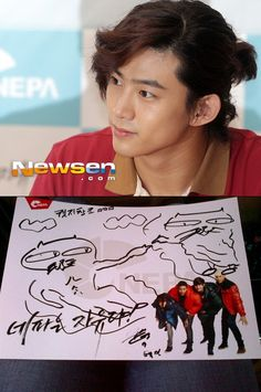 2PM's Taecyeon recreates 'The Creation of Adam' #okcat