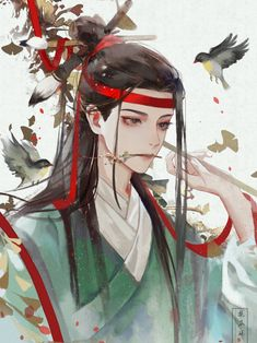 Fantasy Art Men, Fantasy Girl, Magic Anime, Character Art, Character Design, Chinese Artwork, Aesthetic Anime, Anime Guys, Anime Art