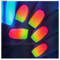 Glow in the dark nails!!!!!!!!!!!!!!!!!!!!!!!!!!!!!!!!!!!!!!!!!!!!!