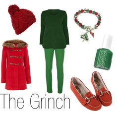 """""""The Grinch"""" by ja-vy on Polyvore"""