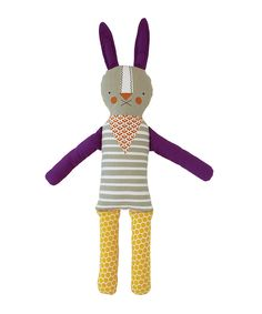 This Funny Bunny Modern 19.5'' Doll by Petit Collage is perfect! #zulilyfinds