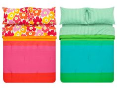The Marimekko Spring 2013 Bedding Collection is anything but a snooze. View all the bold patterns at www.FinnStyle.com.