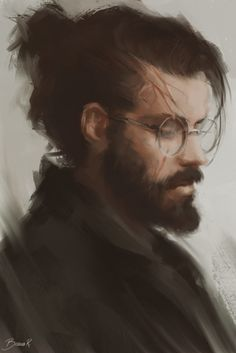 Adult Harry Potter by Bianca R. Art